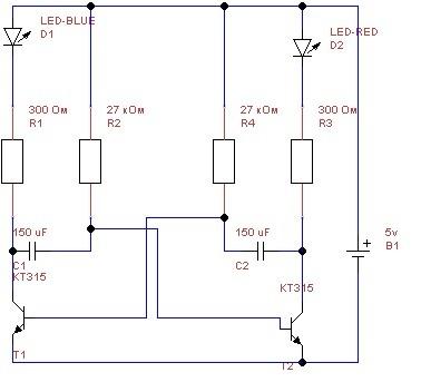 ANSI.  0. Можно ли тут заменить транзисторы номиналом КТ315 на транзисторы номиналом С1815?  Ученик(122) .